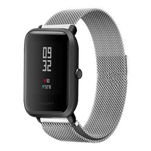 20mm Universal Replacement Watch Band Steel Lite Mesh Metal strap for Huami Xiaomi Amazfit Bip for WeLoop hey 3s for Ticwatch2
