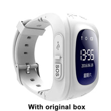 Q50 OLED Screen GPS Smart Kid Watch SOS Call Location Finder Locator Tracker for Childreb Anti Lost Monitor Baby Wristwatch