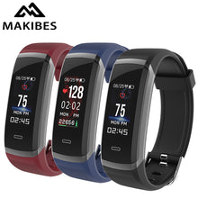 Makibes HR3 Wristband Bracelet men Continuous Heart Rate Fitness Tracker SmartBand for xiaomi iPhone7 Huawei PK GT101 gift