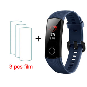 Huawei Honor Band 4 Smart Bracelet 50m Waterproof Fitness Tracker AMOLE Touch Screen Heart Rate Monitor Display Message Show