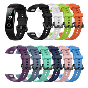 In Stock Silicone Wrist Strap For Huawei Honor Band 4 Standard Version Smart Wristband Sport Bracelet Band honor band 4 Correa