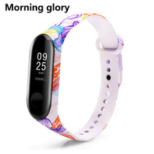 BOORUI Colorful Mi Band 3 Strap Bracelet Replacement  for Xiaomi miband 3 silicone pulsera correa mi3 belt with varied flowers