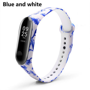 BOORUI Miband 3 Strap Mi band 3 Accessories Replacement silicone varied wrist strap for xiaomi mi 3 smart bracelets