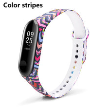 BOORUI Mi band 3 Silicone wrist strap For Xiaomi Mi Band 3 Bracelet Strap Miband 3 Colorful Strap Wristband Smart Bands