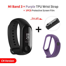 New Original Xiaomi Mi Band 3 Smart Bracelet Black 0.78 inch OLED Miband 3 Wristband Band3 Instant Message Call Fitness Tracker