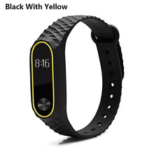 MJOBS Colorful Diamond Miband 2 strap Newest silicone mi 2 wrist strap correa mi band 2 smart bracelet Wristband Replacemet