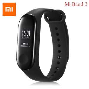 Original Xiaomi Mi Band 2 Mi Band 3 Smart Bracelet Bluetooth 4.0 Sport Smart Watch Heart Rate Monitor Smart Band For Android iOS