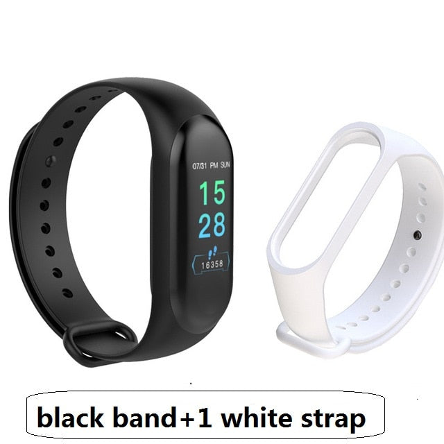 M3 Pro Smart Band Waterproof Fitness Tracker Smart Bracelet Blood Pressure Heart Rate Monitor Men Women Smart Watch PK Mi Band