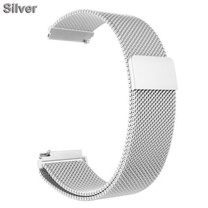 XShum Metal Stainless Steel Band For Fitbit Versa Strap Wrist Milanese Loop Magnetic Bracelet fit bit Verse Band Accessories