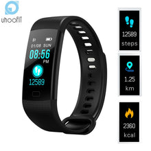 Uhoofit Smart Wristband Pedometer Smart Band Blood Pressure Heart Rate Monitor Fitness Bracelet Activity Tracker Watch for IOS