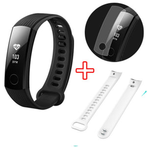 Original Huawei Honor Band 3 Smart Band 50 meters Swimming Waterproof Fitness Tracker Smart Watch Real-time Heart Rate Monitor