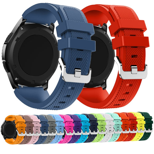 22mm Wrist Strap for Huawei Watch GT Silicone Watch Bands For Honor watch Magic Replacement Bracelet Band Smart Watch Accessory