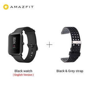 Xiaomi Huami Amazfit Bip Smart Watch GPS Smartwatch Android iOS Heart Rate Monitor 45 Days Battery Life IP68 Always-on Display