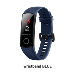 Original Huawei Honor Band 4 AMOLED Color 0.95 Inch Touchscreen Smart Wristband 50M Professional Waterproof Detect Heart Rate