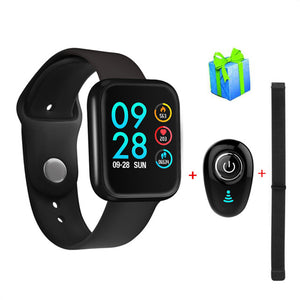 Fitness tracker bracelet P70 smart watch band blood pressure clock IP68 waterproof upgrade P68 fast ship for dropshipping