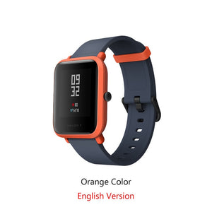 International Version Amazfit Bip Smart Watch Huami GPS Heart Rate Smartwatch Pace Lite 45 Days Battery Bluetooth4.0 IP68 Watch