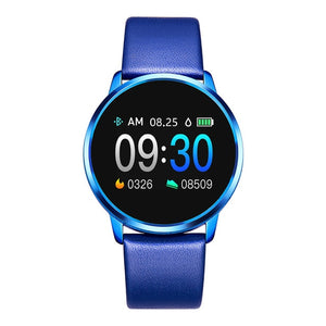 RUNDOING Q8 Color Screen smart watch women watch Fashion smartwatch Heart Rate monitor  Fitness Tracker