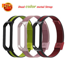 Bracelet for Xiaomi Mi Band 3 Strap watch metal/Silicone wrist strap For xiaomi mi band 3 accessories bracelet Miband 3 Strap