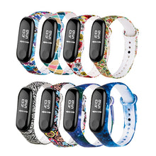 Rovtop Colorful Bracelets For Xiaomi Mi Band 3 Sport Smart Bracelet Watch Silicone Wrist Strap For Xiaomi Miband 3 Wriststrap