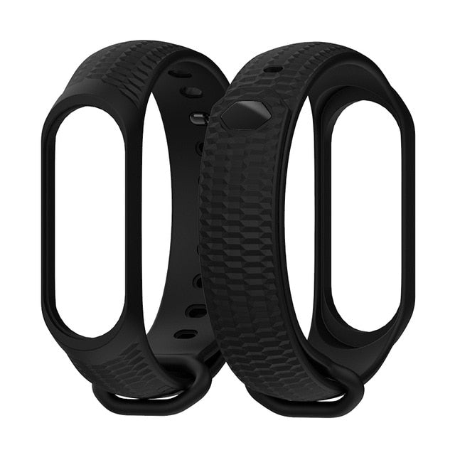 Mijobs Silicone Wrist Strap Mi Band 3 Accessories for Xiaomi Mi Band 3 Smart Watch Bracelet Band3 Sport Wristbands Miband 3 Band