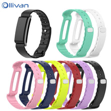 Ollivan Colorful Soft Silicone Replacement Bracelet Band Wrist Strap For Huawei Honor Band A2 Straps Color Band A2 Accessories