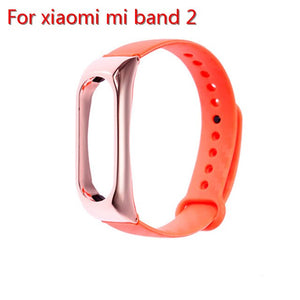 Rovtop For Xiaomi Mi band 2 Strap Smart Wristband Bracelet Wrist Strap For Xiaomi Miband 2 Bracelet Smart Band Accessories