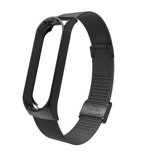 JOINRUN Mi Band 3 Wrist Strap Metal Screwless Stainless Steel For Xiaomi Mi Band 3 Strap Bracelet Miband 3 Wristbands Pulseira