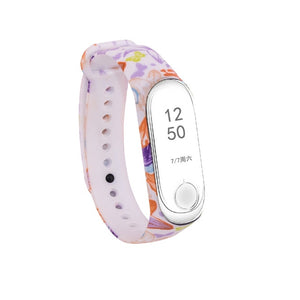 LEMFO Silicone Strap For Xiaomi Mi Band 3 Colorful Straps For Xiaomi Miband 3 Smart Bracelet Replacement Strap For Mi Band 3