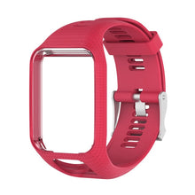 Wrist Band Strap for TomTom 2 3 Runner Spark Music Replacement Bracelet Soft Watchband Silicone Belt Watch Bracelet Accessory