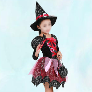 Halloween Witch Clothes Costume for Kids