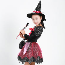 Load image into Gallery viewer, Halloween Witch Clothes Costume for Kids