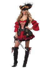 Load image into Gallery viewer, Woman Pirate Halloween Costume
