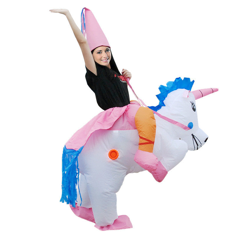 Halloween Child Adult Inflatable Clothing Play For Fun