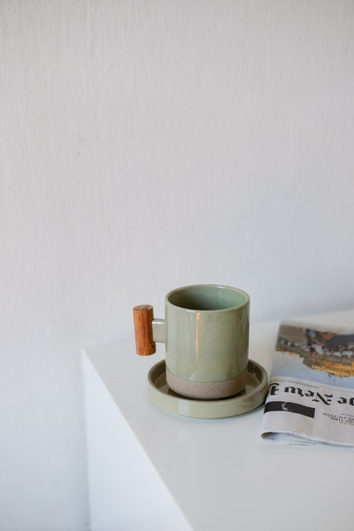 Kyoto Mug and Coaster Set