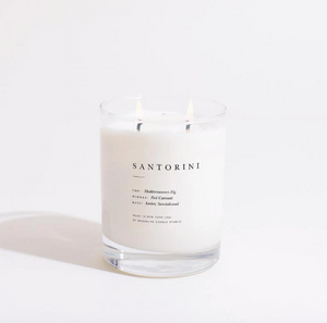 Santorini Escapist Candle by Brooklyn Candle Studio