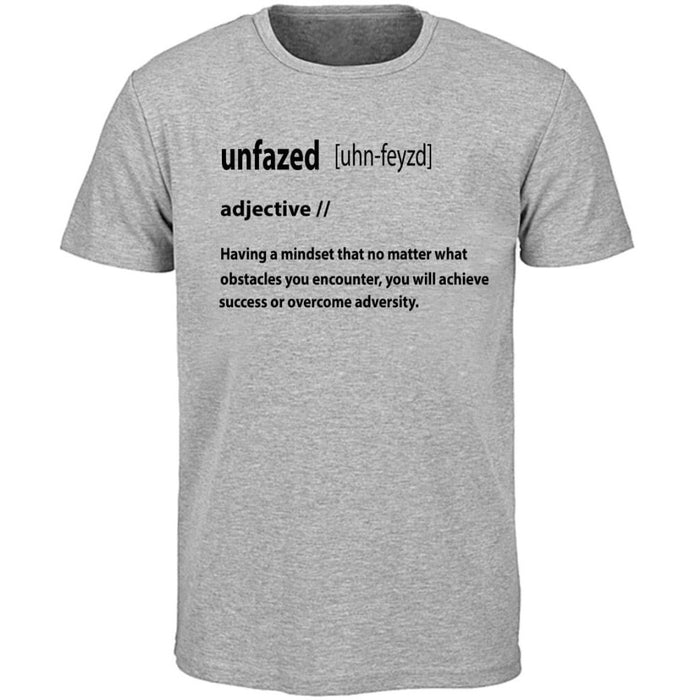 Definition of UNFAZED (Gray)