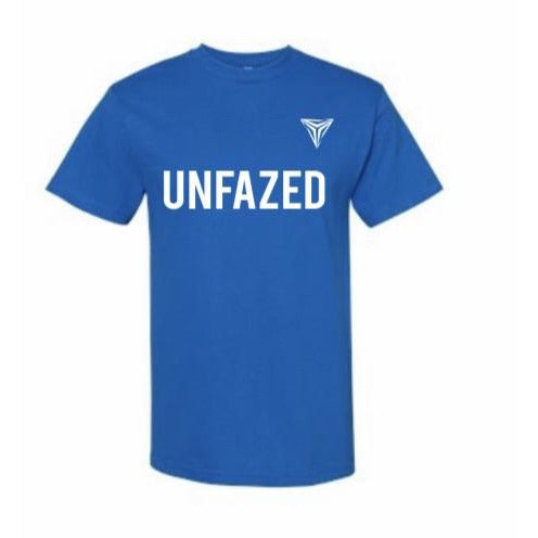 UNFAZED logo-blue