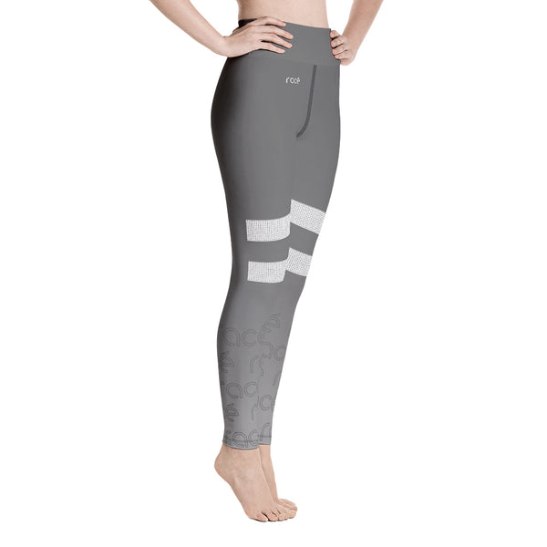 racé LOVELACE SILVER high waist legging