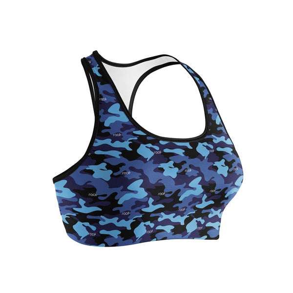 racé ATKINS NAVY sports bra