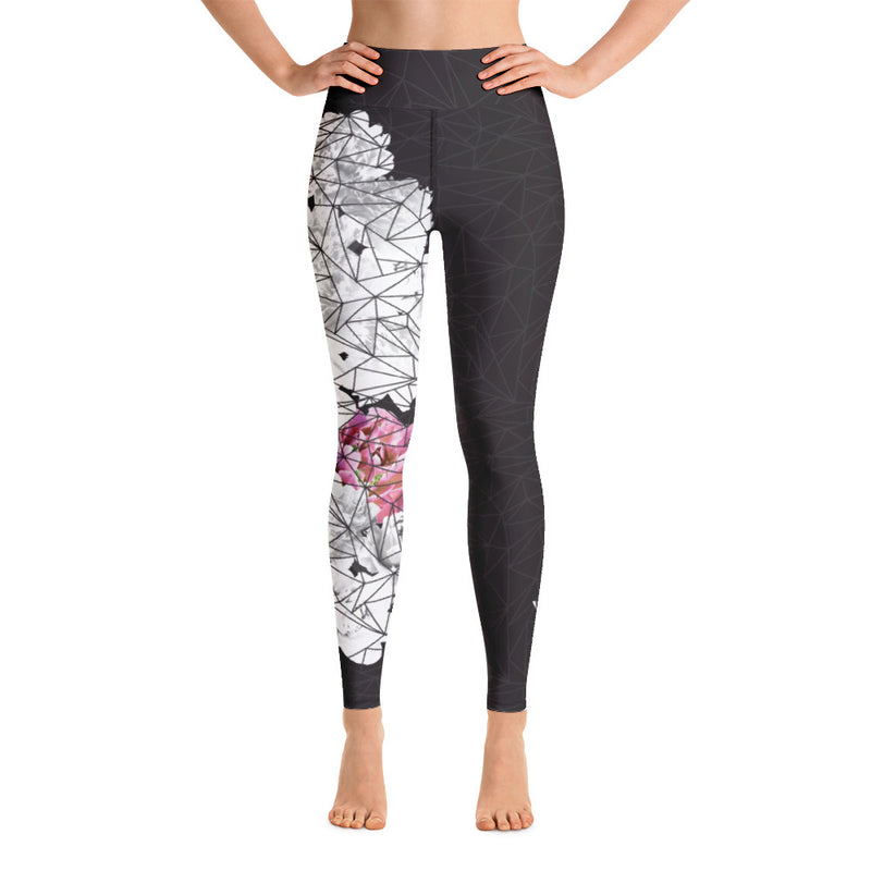 racé SAKURA Black high waist Leggings