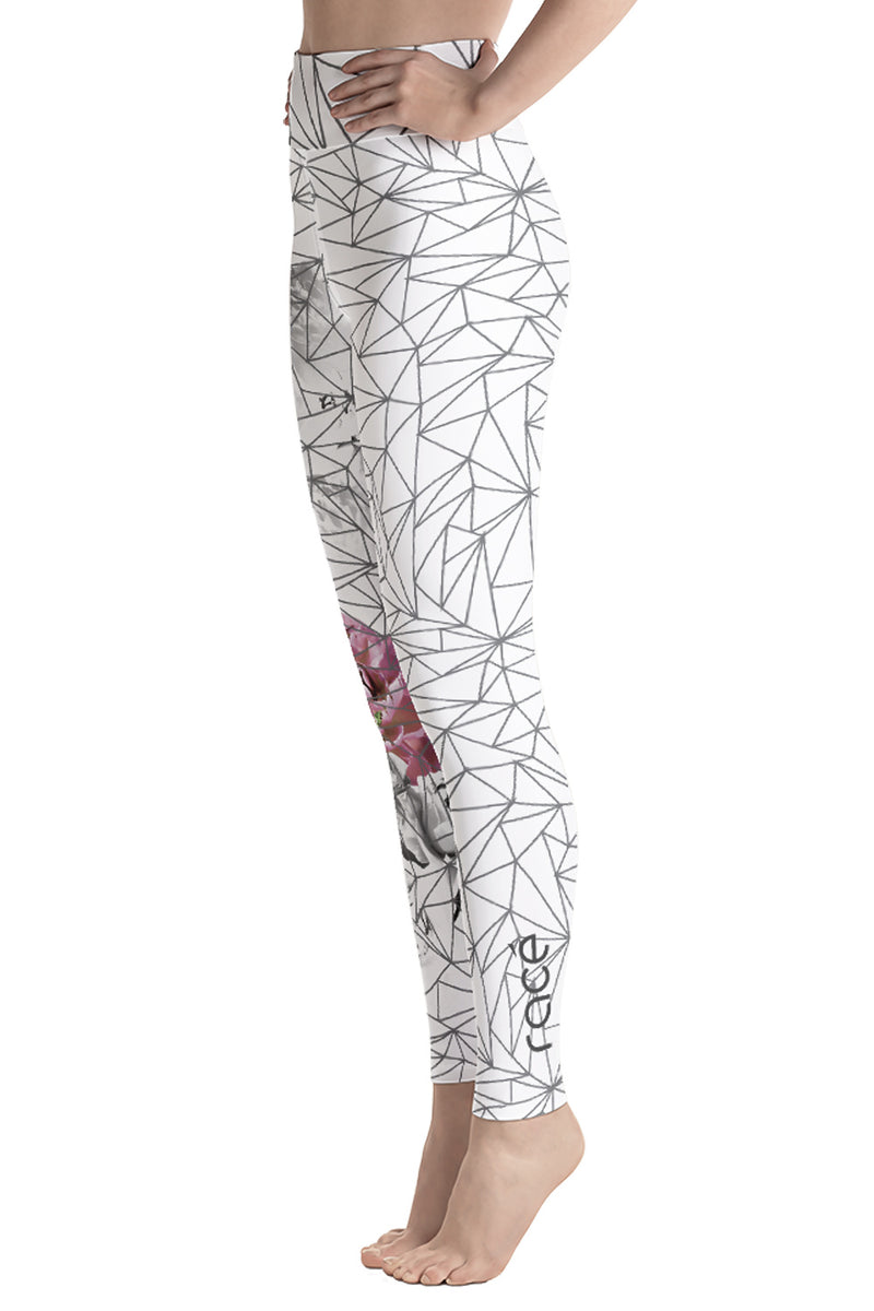 racé Sakura Grey high waist legging