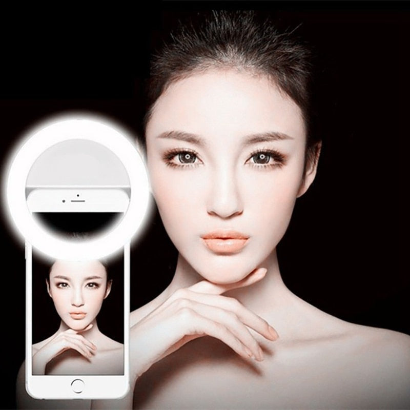 Smartphone Darkness Photography Ring Selfie Ring