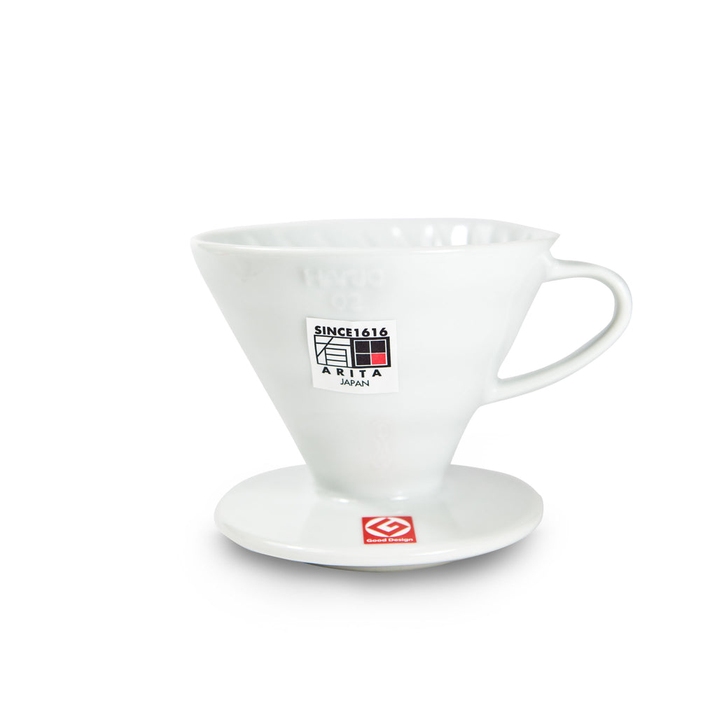 HARIO V60 Handfilter 02 Ceramic White inkl. 250g Single Origin Kaffee