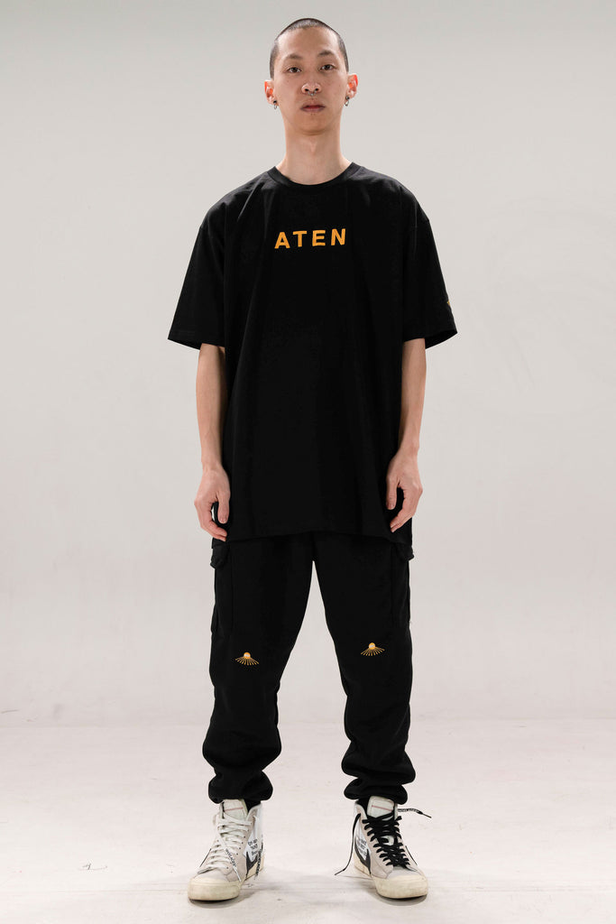 ATEN18 TEE - GOLD TEXT