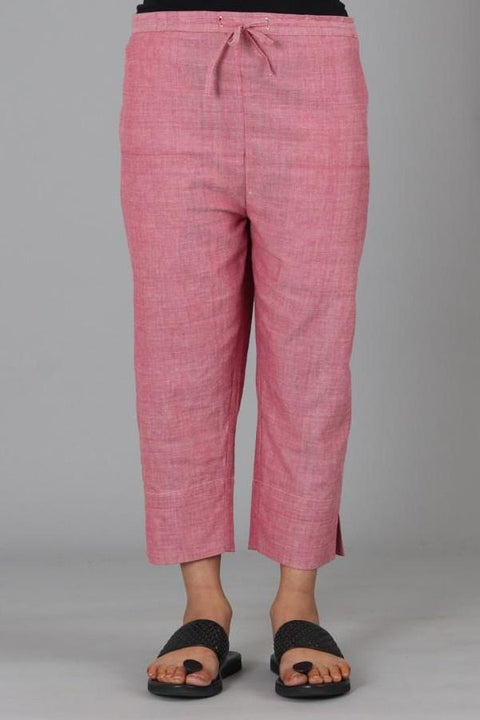 Light Pink Capri Trouser