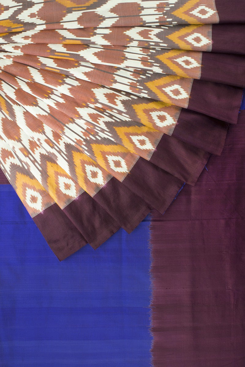 All Over Ikat Silk Saree