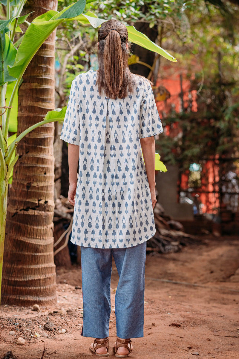 Bloom Buttoned tunic