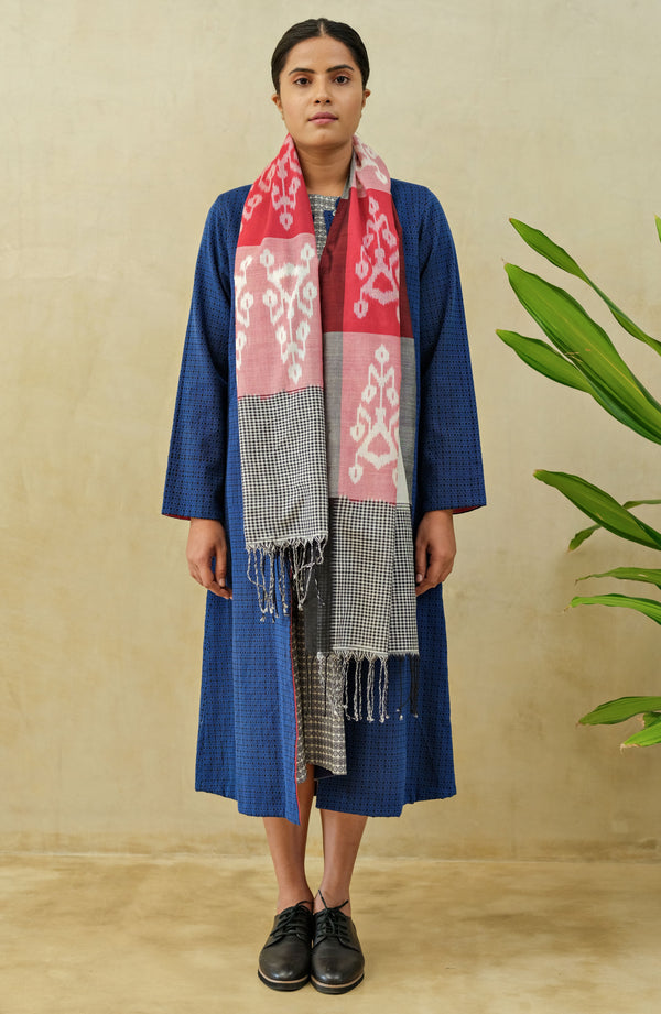 Azure Reversible Long Jacket