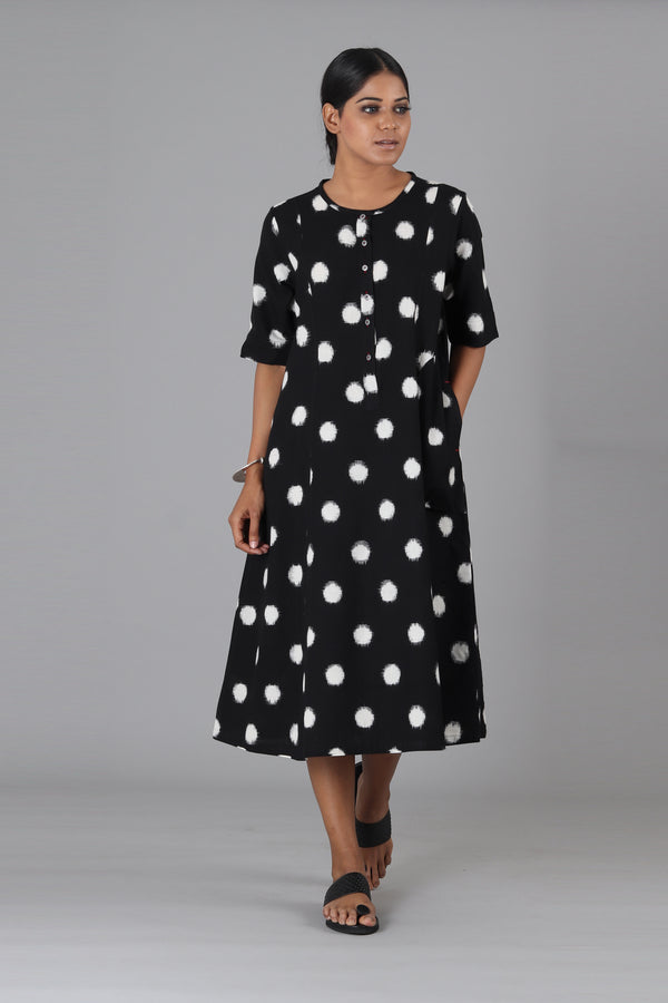 Small Black Polka Dress