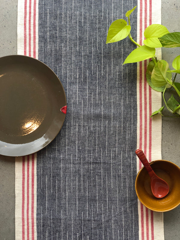 Blue Spacedye Table Runner
